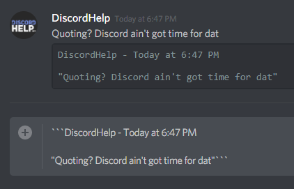 How to Quote Messages in Discord | Discord Help