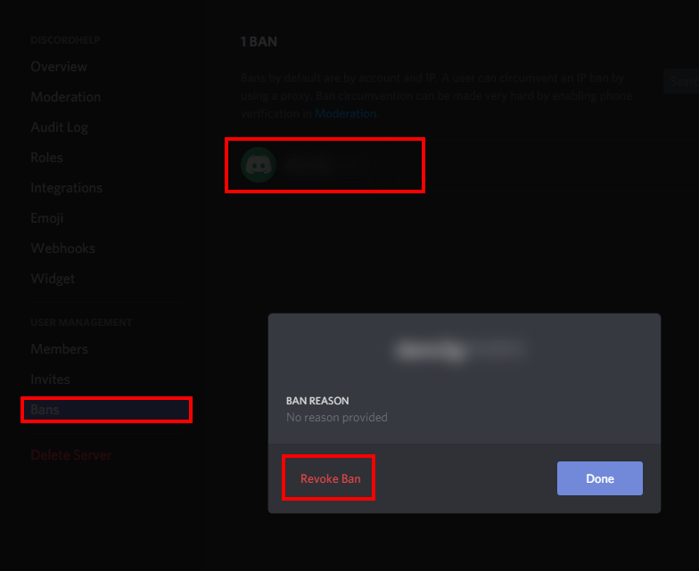 How to Unban Someone in Discord | Discord Help